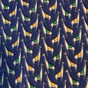 Salvador Ferragoma Silk Tie
